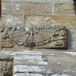 Cadran solaire et sculptures