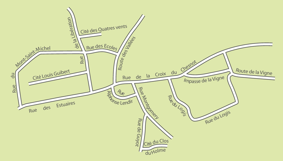 Centre de Saint-Quentin-sur-le-Homme