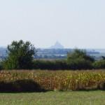 La vue unique sur le Mont-Saint-Michel